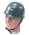 Soldaten helm voor kinderen legergroen
